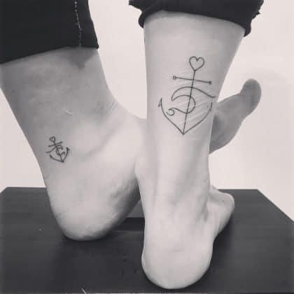 tattoo amicizia by @didowalstra