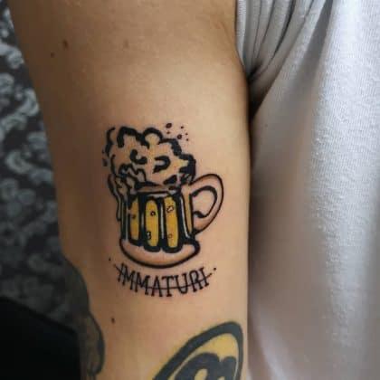tattoo amicizia by @fenixtattooink