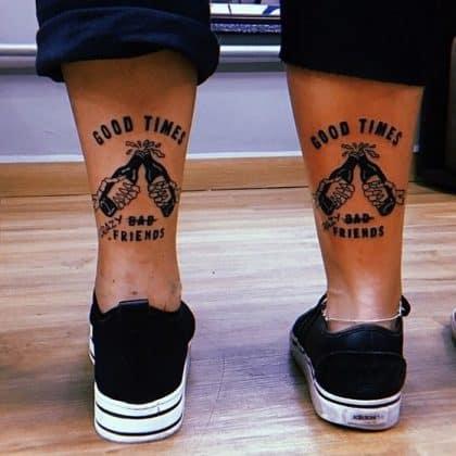 tattoo amicizia by @fernandootattoo