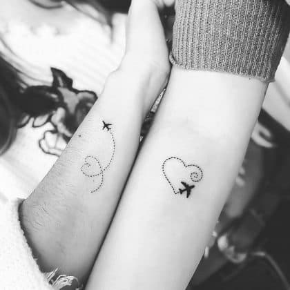 tattoo amicizia by @fillis_p