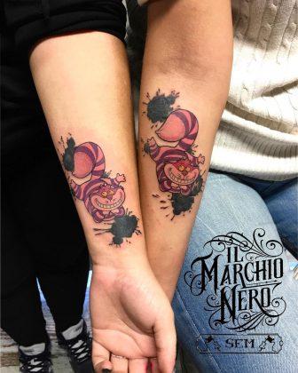 tattoo amicizia by @ilmarchionero_tattoo