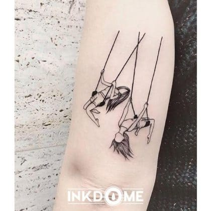 tattoo amicizia by @inkdome