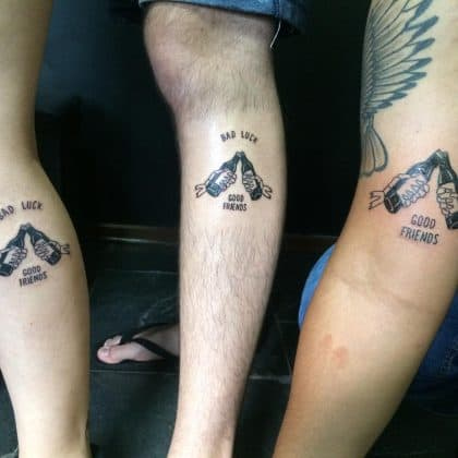 tattoo amicizia by @jcarlos.tattoo