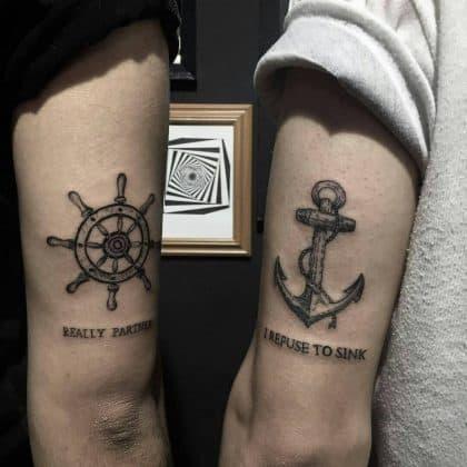 tattoo amicizia by @noregretstattooo