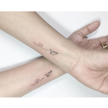 tattoo amicizia by @playground_tat2