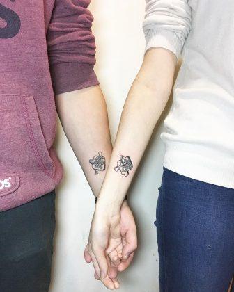 tattoo amicizia by @rubikus_kubikus