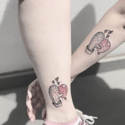 tattoo amicizia by @sonia_tessari