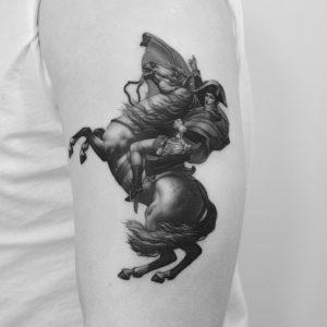 tattoo-cavallo-by-@dotyk.tattoo