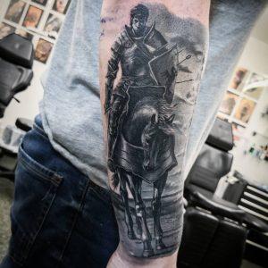 tattoo-cavallo-by-@etgar_oak
