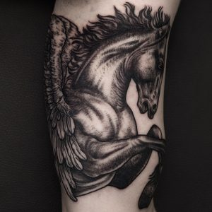 tattoo-cavallo-by-@iljahummel