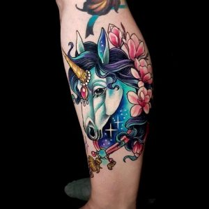 tattoo-cavallo-by-@julie_zel_t