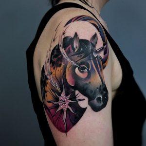 tattoo-cavallo-by-@martyna_popiel