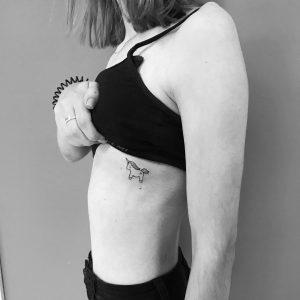 tattoo-cavallo-by-@veselskayatattoo