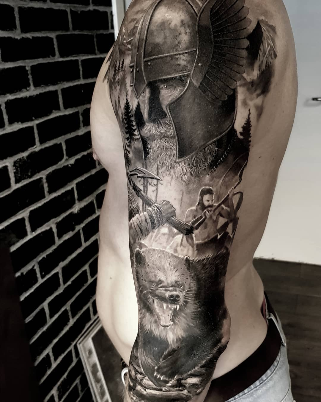 tattoo by @inkbyoskar