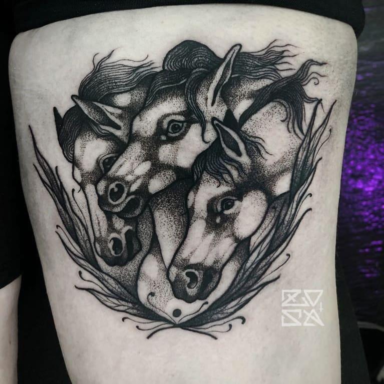 trittico-cavalli-by-@zosa_tattooer