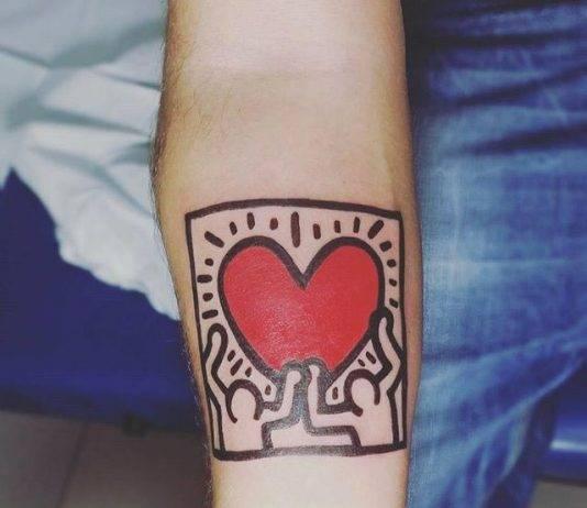 Tatuaje del corazón