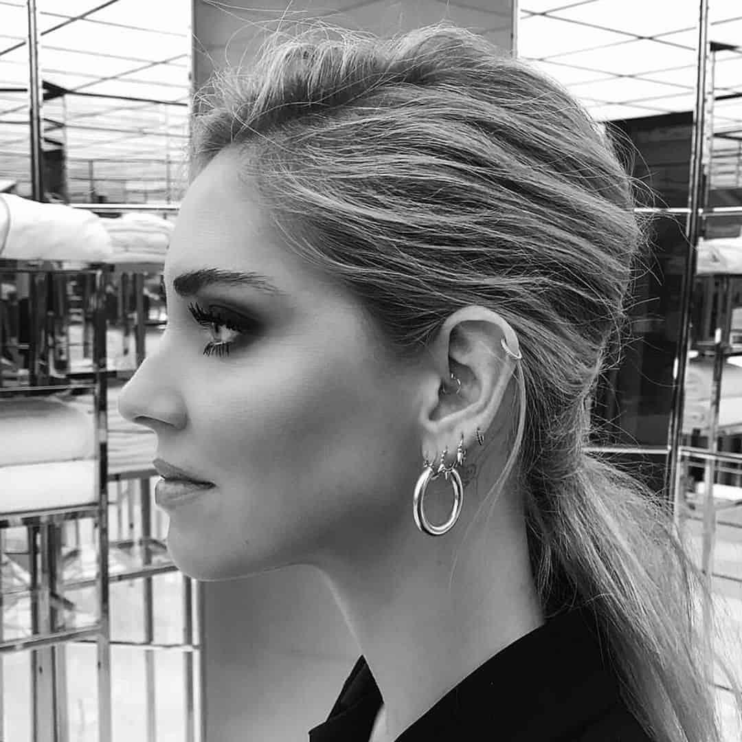 Storia del piercing all 39 orecchio dalle origini ad oggi for Piercing orecchio dilatatore