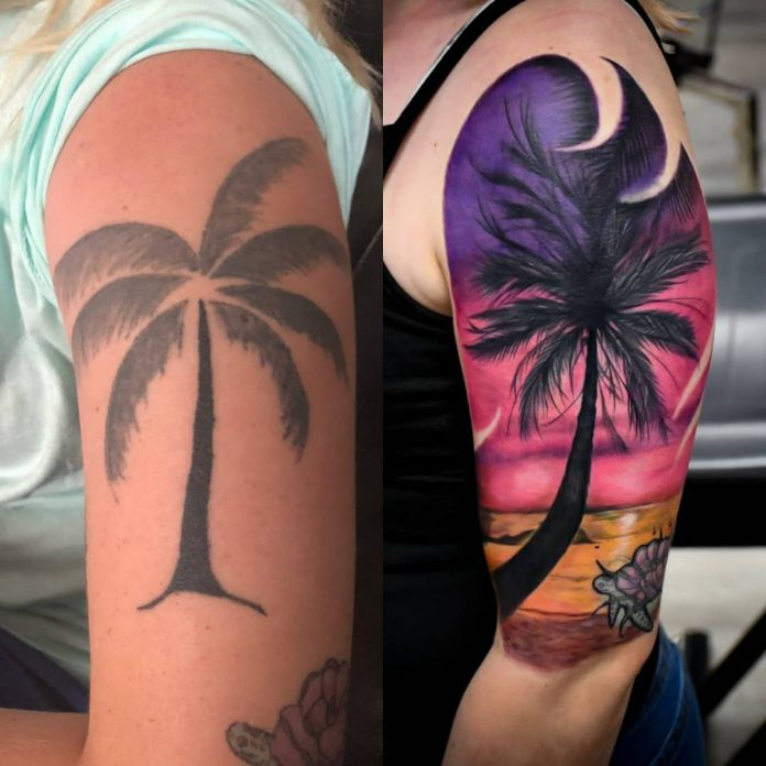 Cover up tattoo palma by @fullproof.bloom