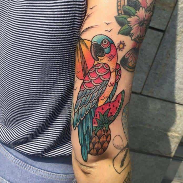 tatuaggi piante e animali