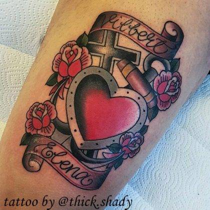 tattoo-cuore-croce-scritte-by-@thick.shady