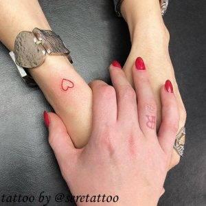 tattoo-cuore-semplice-by-@seretattoo