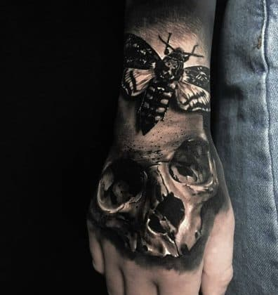 tatuaggi con teschi