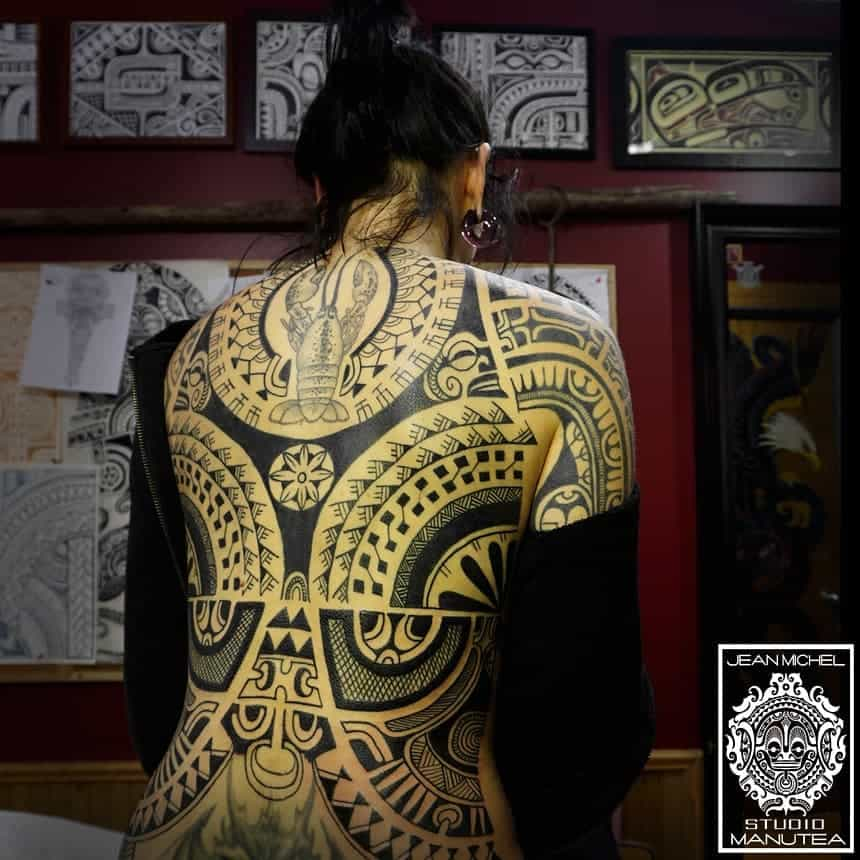 tattoo tribali donne by @jeanmichelmanutea