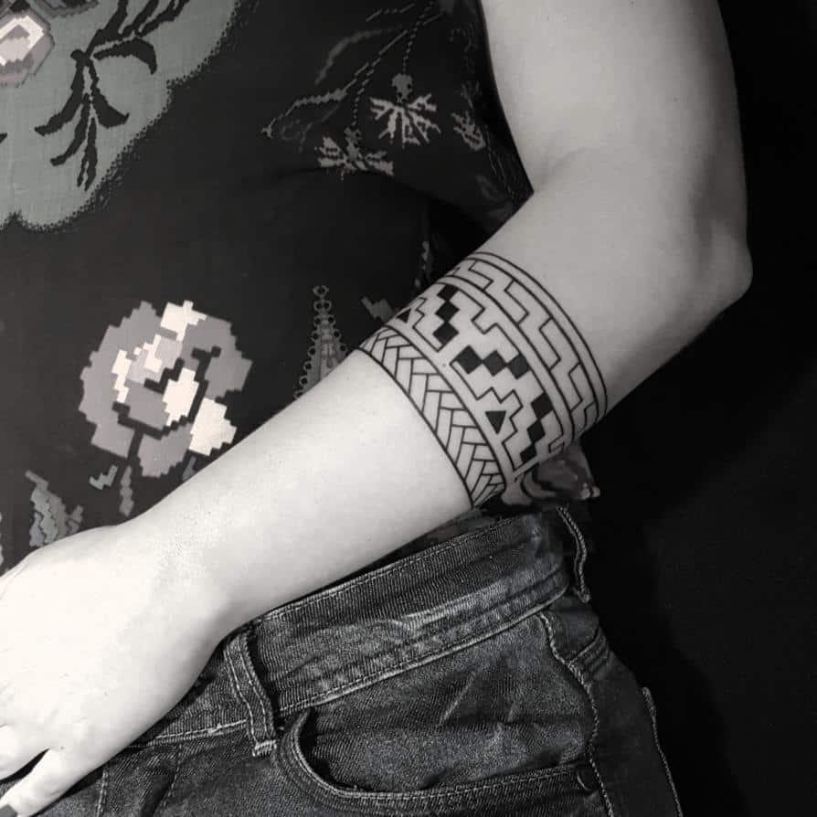 tattoo tribali per donna by @felipeblackink