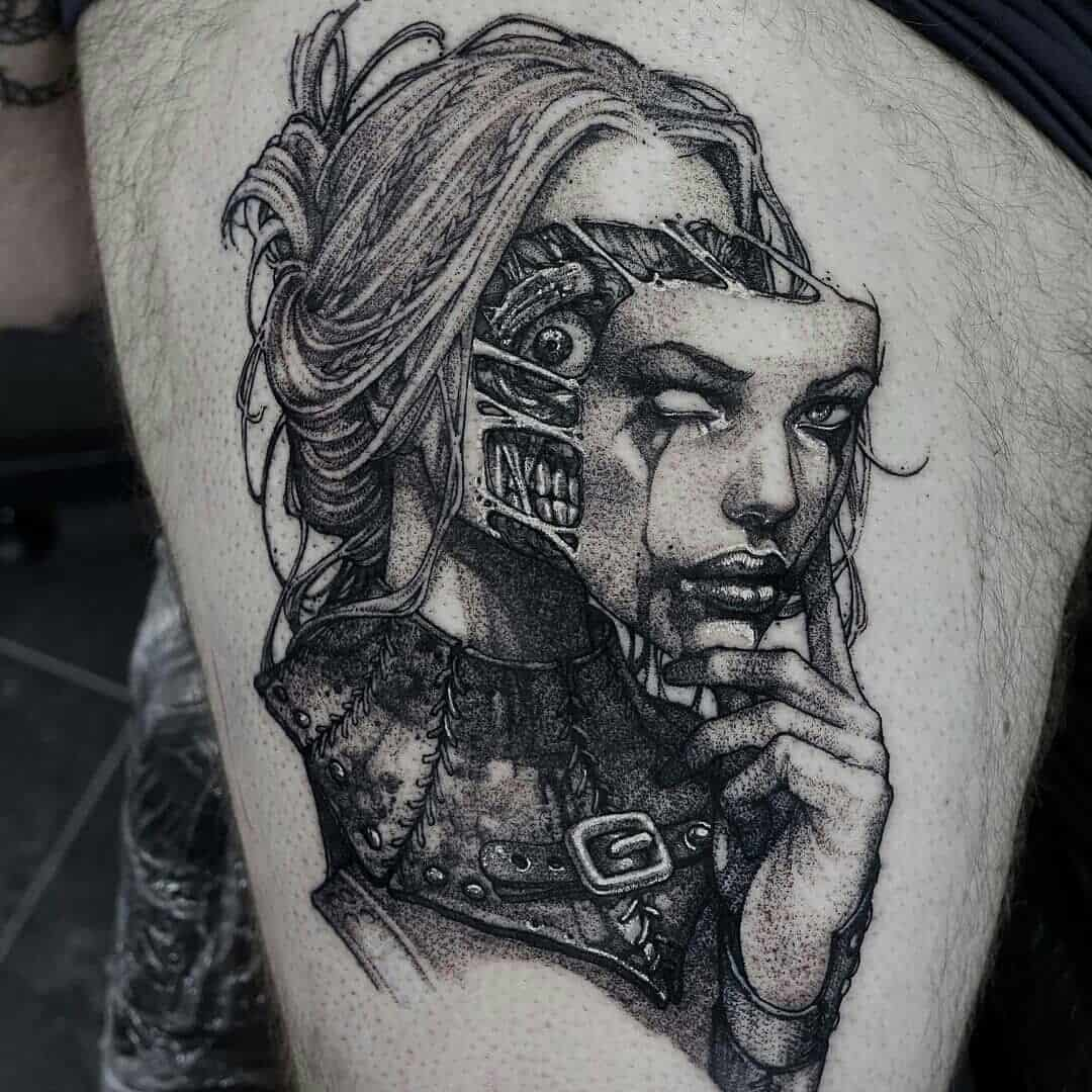 Tattoo by @dodepras_tattoo