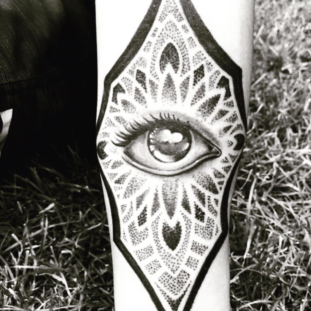 tattoo occhio by @luispompizzitattoo