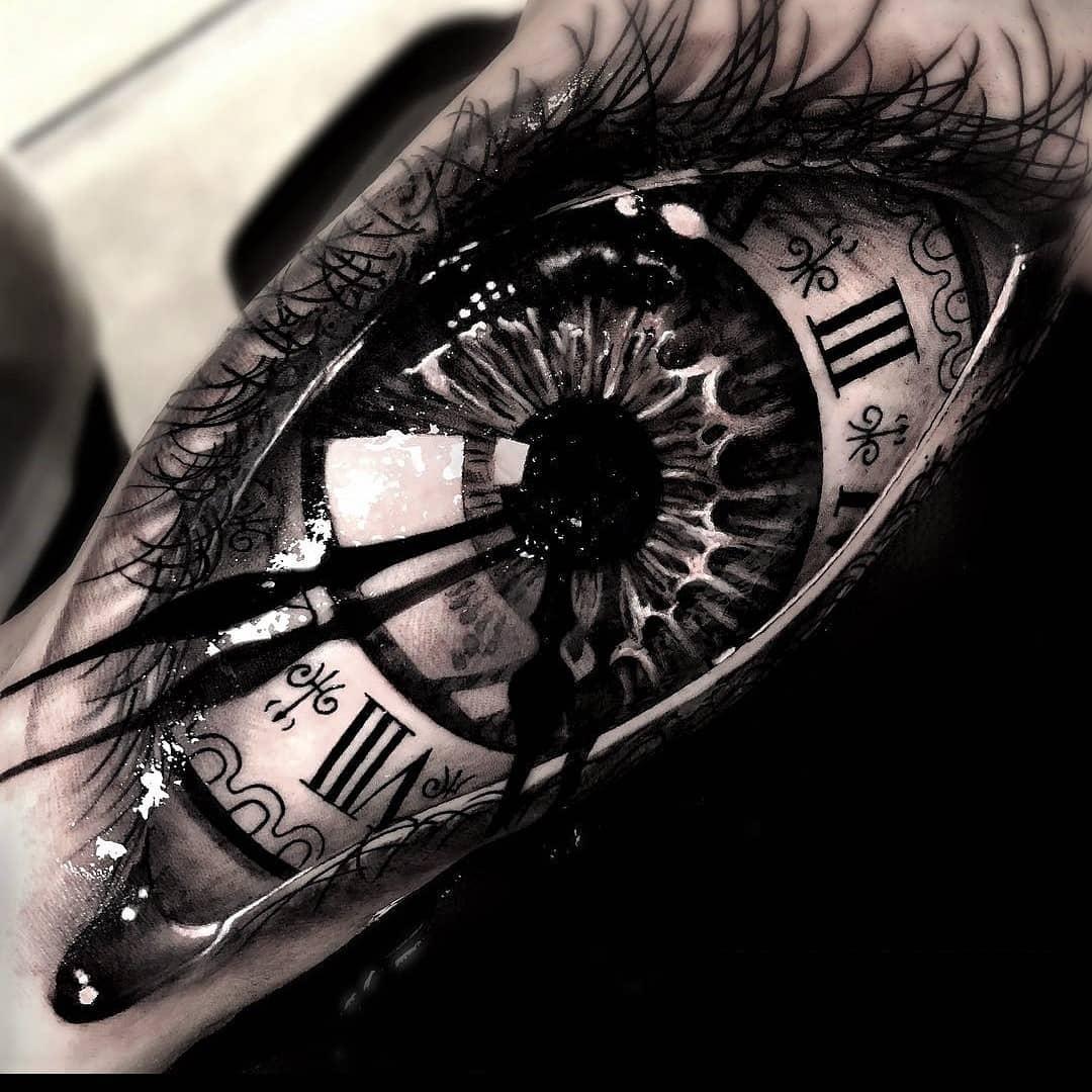 tattoo occhio by @stefano_tatuaggi_94