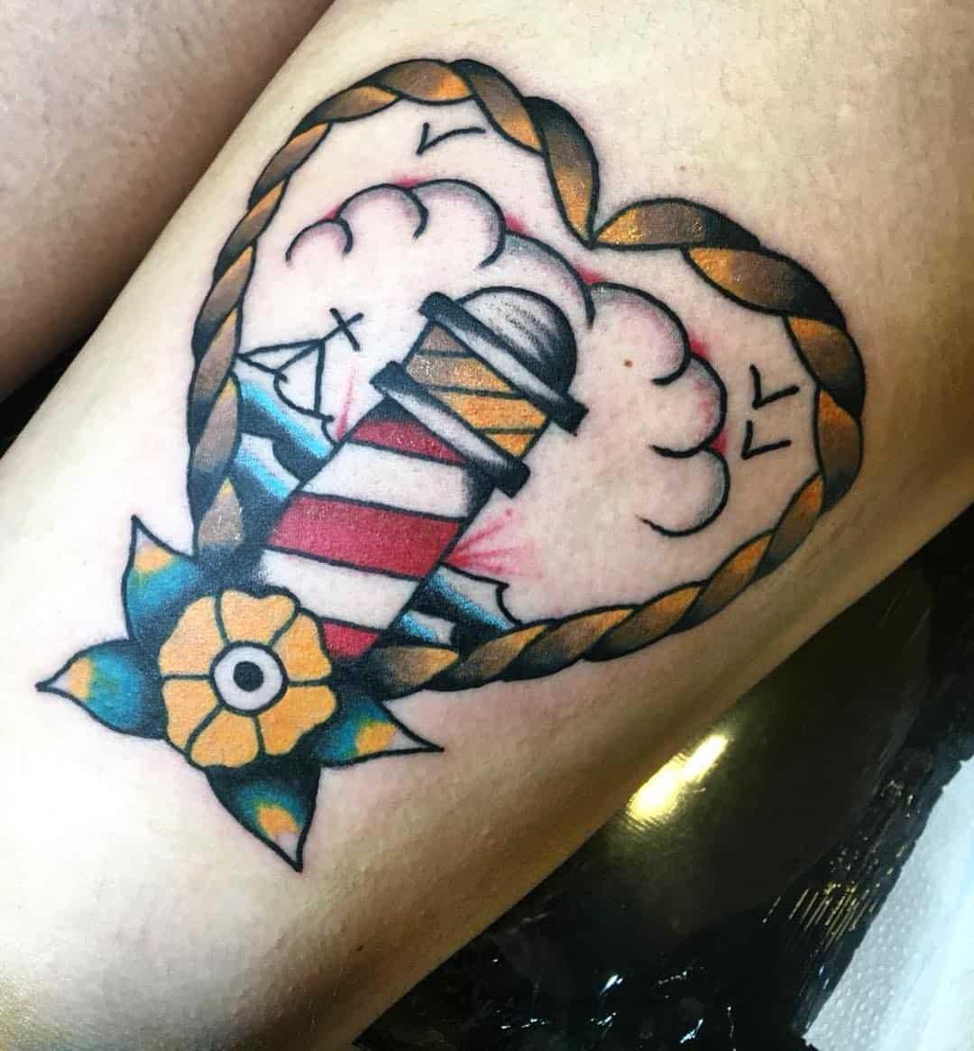 faro tattoo by @tattoorafa