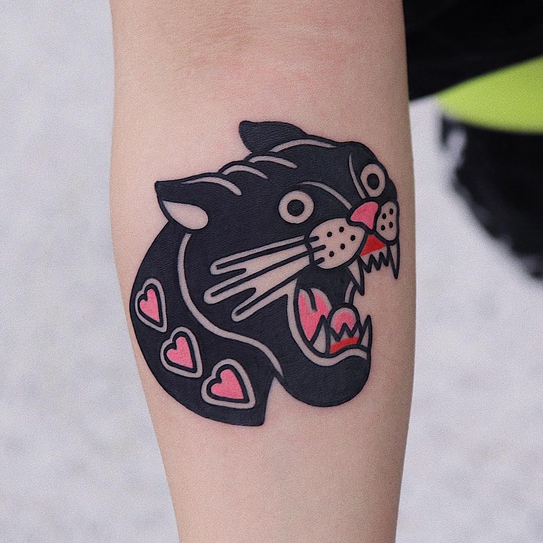 pantera tattoo by @jjttplay