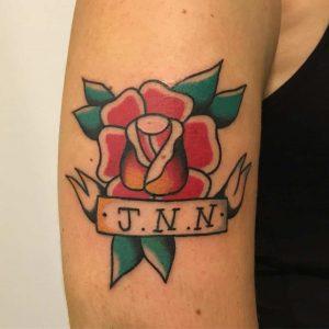 rosa tattoo by @tattoorafa