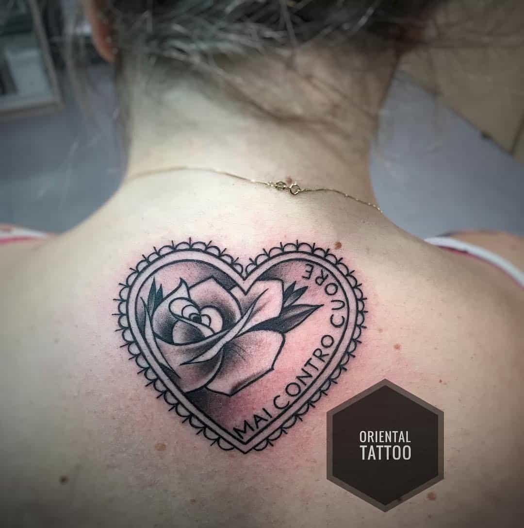 tattoo cuore by @eugenio_dammiano