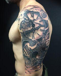 tattoo orologio ingtanaggi