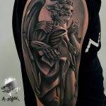 tatuaggi demoni e angeli by @sersky_tattoo