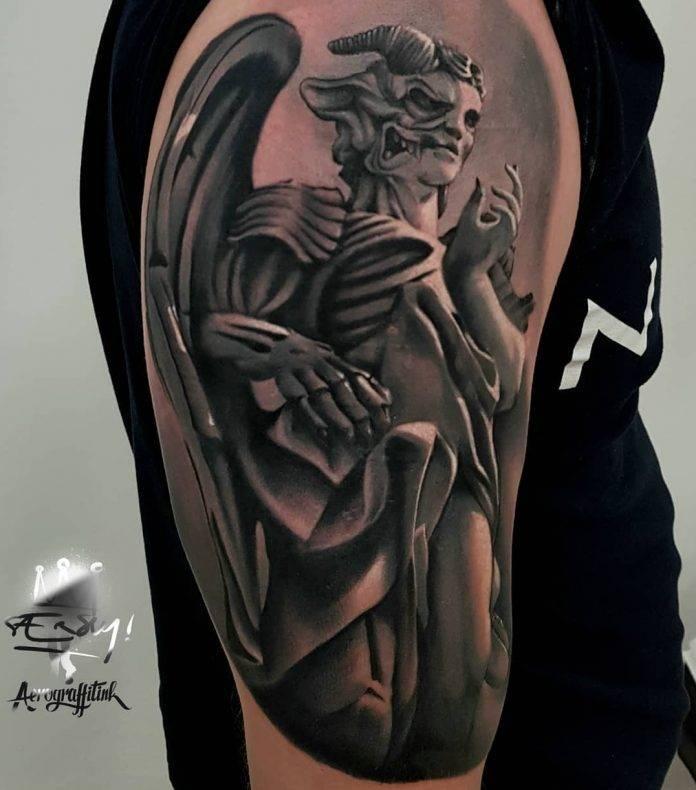 tatuaggi angeli e demoni