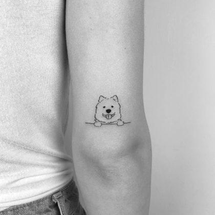 tattoo stilizzato piccolo by @cagridurmaz