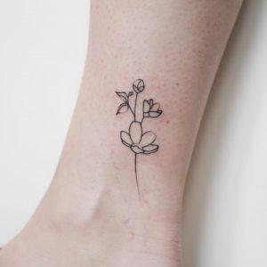 tatuaggio stilizzato by @bymosler