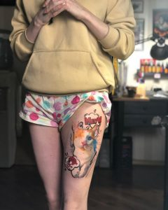 Tattoo gatto by @elmo4kid