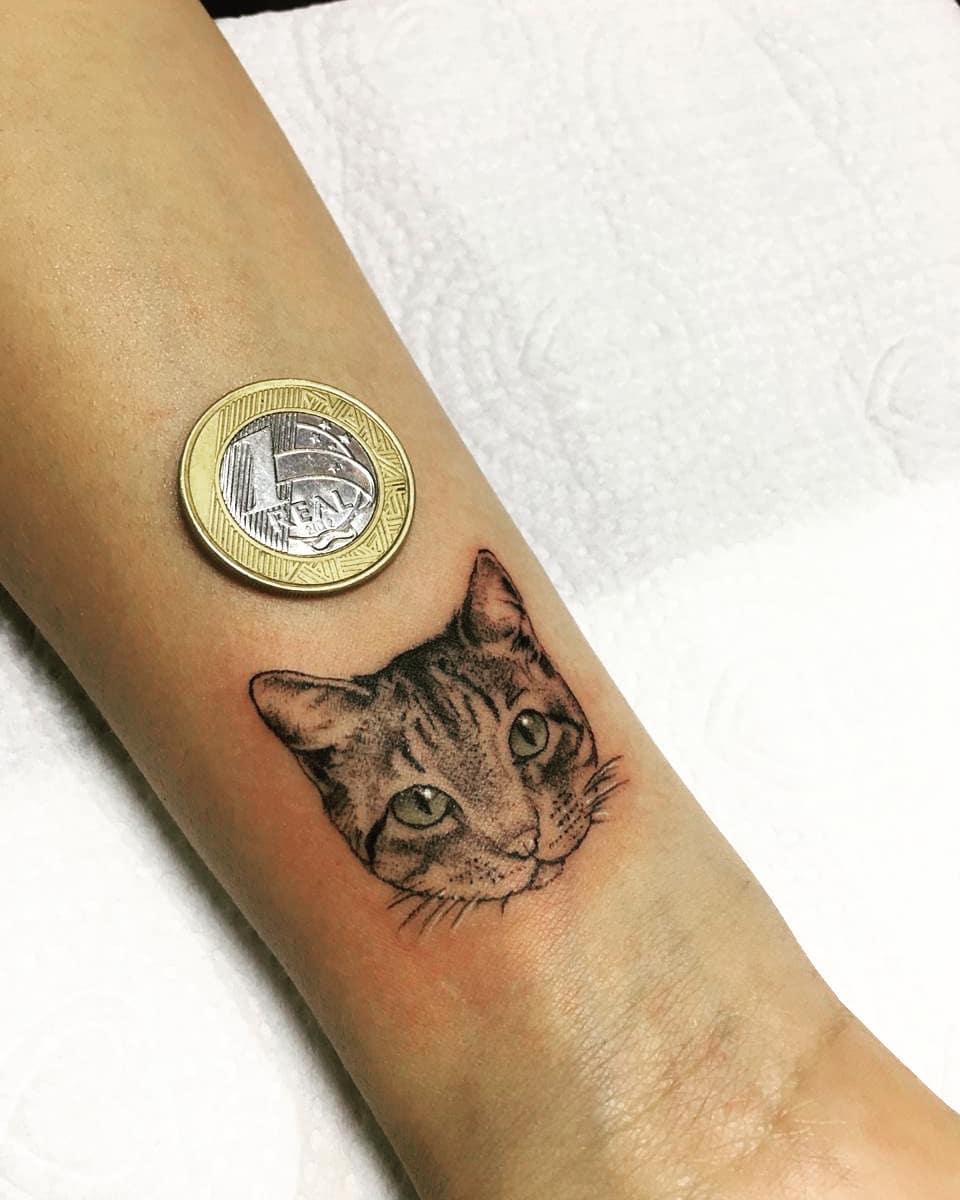 Tattoo gatto by @jonestattoo.035