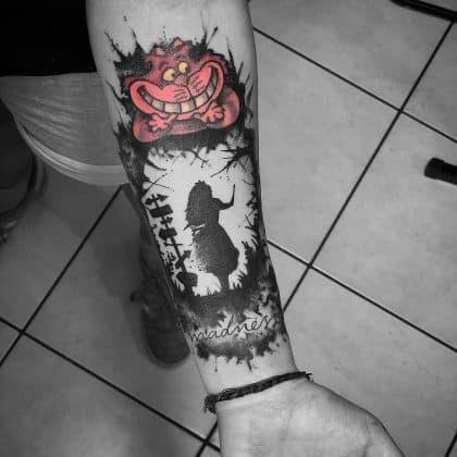 tatuaggio a colori o in nero