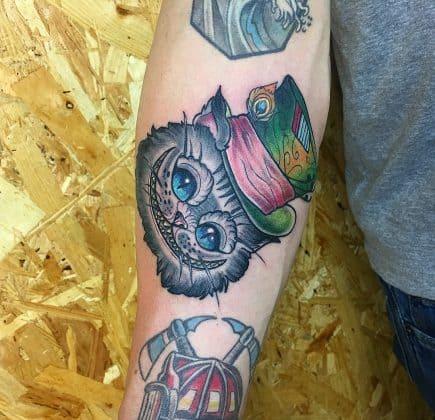 tatuaggio a colori