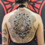 mano di fatima tattoo by @antoniotat2