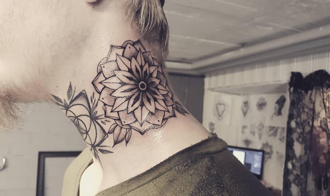 tattoo mandala by @aminkfin