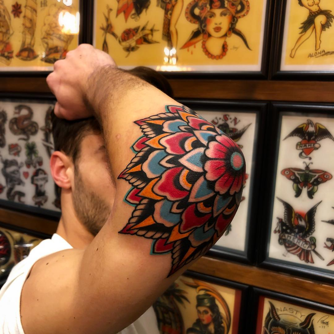 tattoo mandala by @samuelebriganti