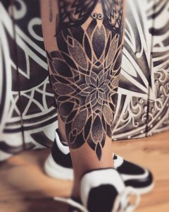 tattoo mandala by @zarosink