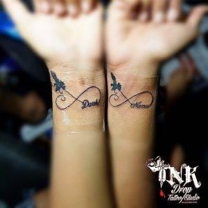 tatuaggio infinito