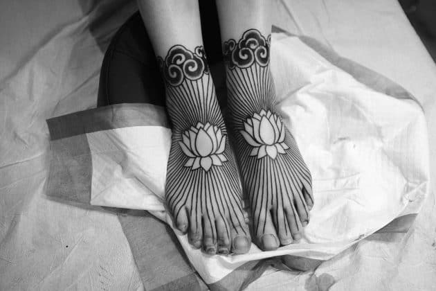 tatuaggio piede